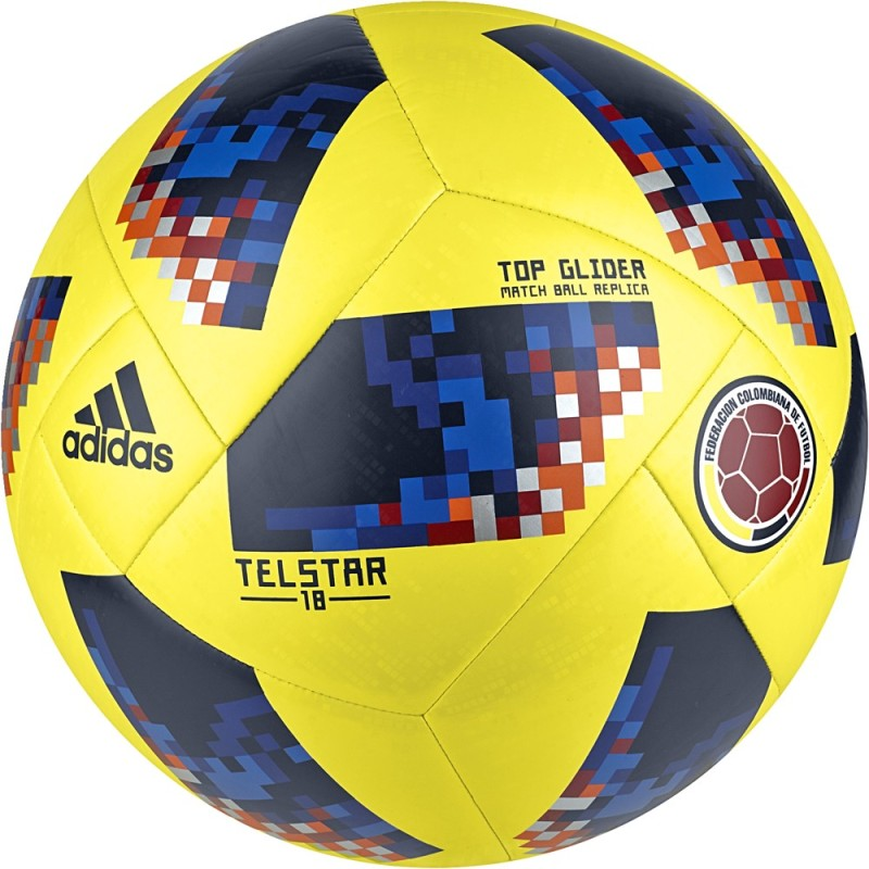 Adidas Telestar Pallone Colombia Top Glider FIFA WC 2018