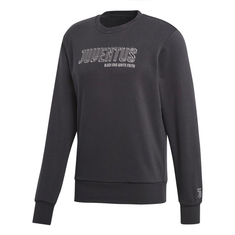 Sweat-shirt de la Juventus, SGR de carbone 2017/18 Adidas