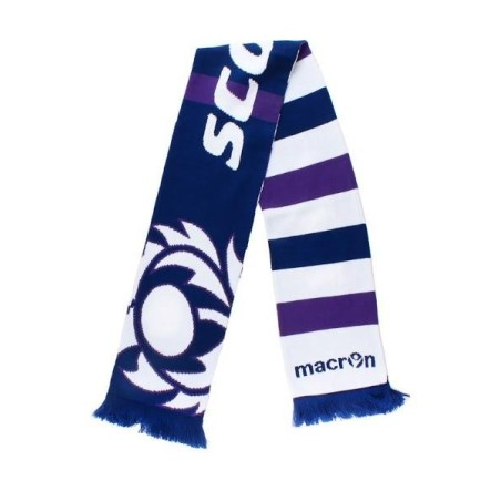 Scotland scarf supporters Rugby Macron