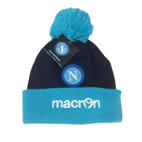 Neapel mütze Beanie blau hellblau Macron