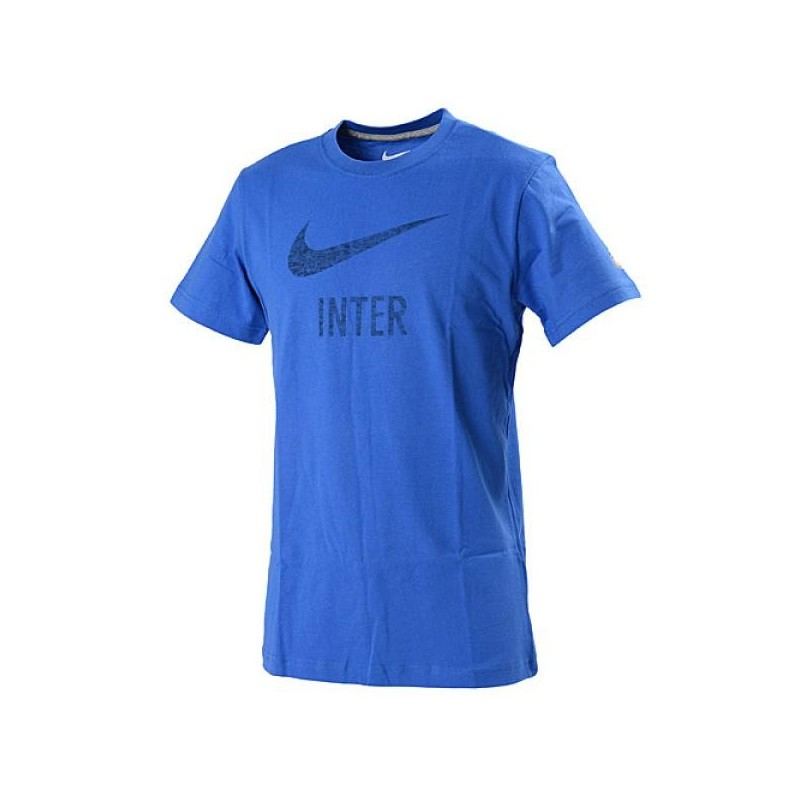 Inter t-shirt basic type blu Nike