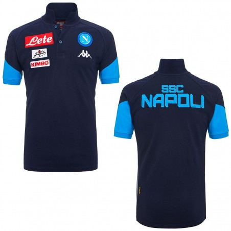 Napoli polo rappresentanza Angat blu navy 2017/18 Kappa