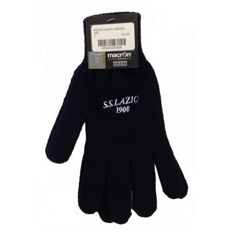 Lazio Gloves wool team blue Macron