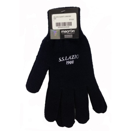 Lazio-Handschuhe-wolle team blau Macron