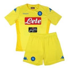 El SSC Napoli de pantalones cortos de jersey de bebé en casa 2017/18 Kappa