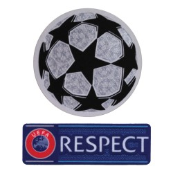 Patch UEFA UCL de la Ligue des Champions 2017/18 d'origine