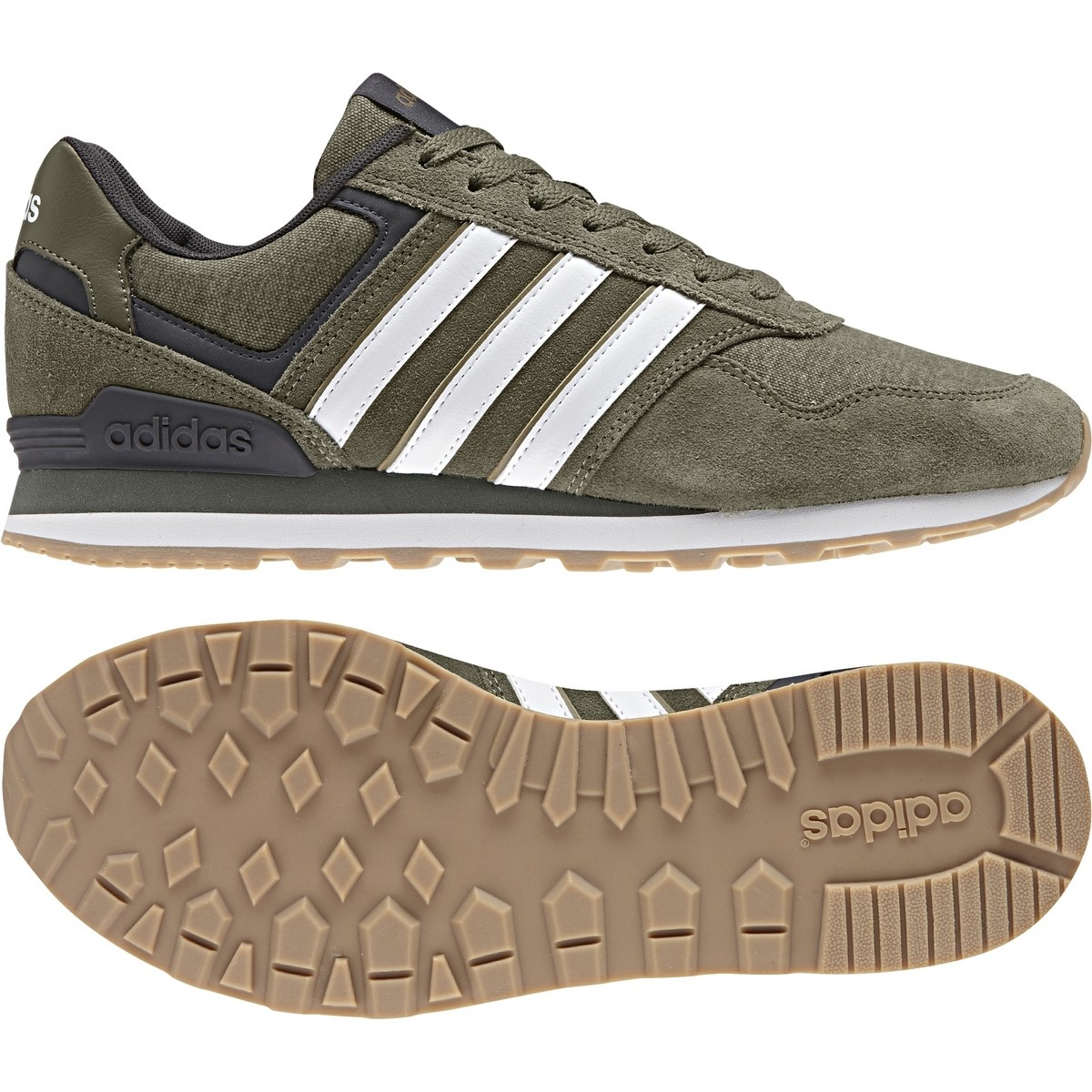 Adidas schuhe 10K grüne cargo Sneaker Neo