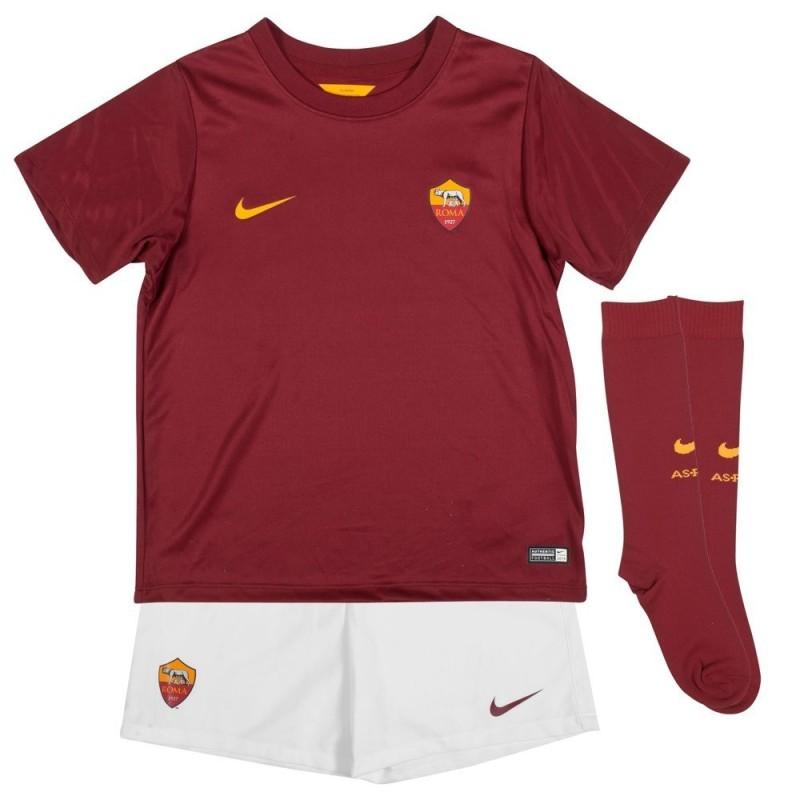 Roma kit calcio bambino home 2014/15 Nike