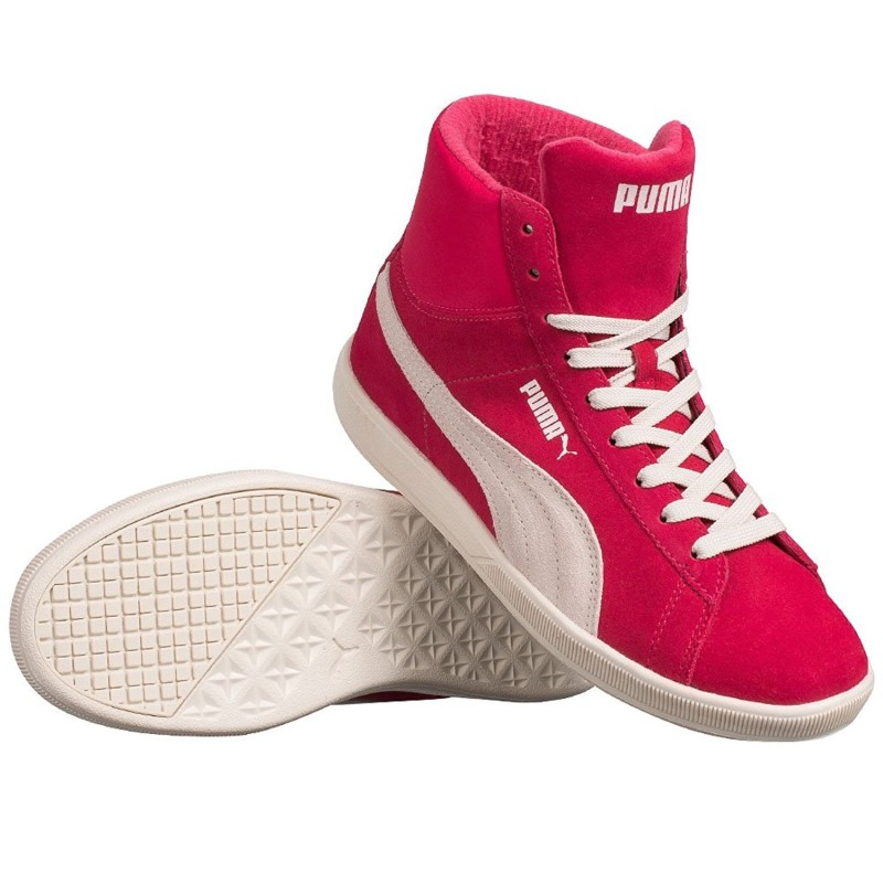 Chaussures Puma Archive lite Mid Suede Rose les sneakers