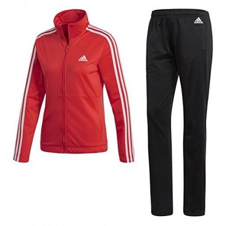 Tuta allenamento donna back2basic corallo Adidas
