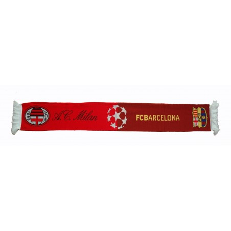 Scarf Milan vs Barcelona official Champions League 2012