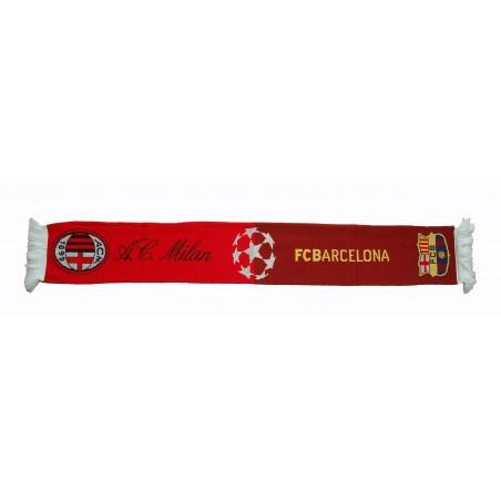 Schal Milan vs Barcelona offizielle Champions League 2012
