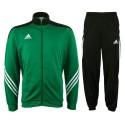 Tuta allenamento Sereno 14 verde Adidas