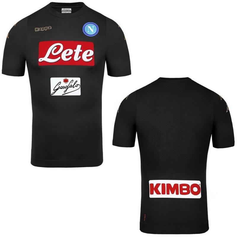 Naples Kombat Peaux jersey troisième 3ème 2016/17 Kappa