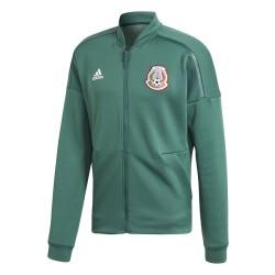 Messico FMF felpa ZNE Jacket pre gara verde 2018/19 Adidas