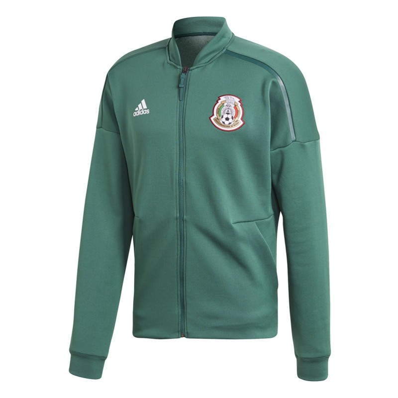 Mexico FMF sweatshirt ZNE Jacket pre race green 2018/19 Adidas