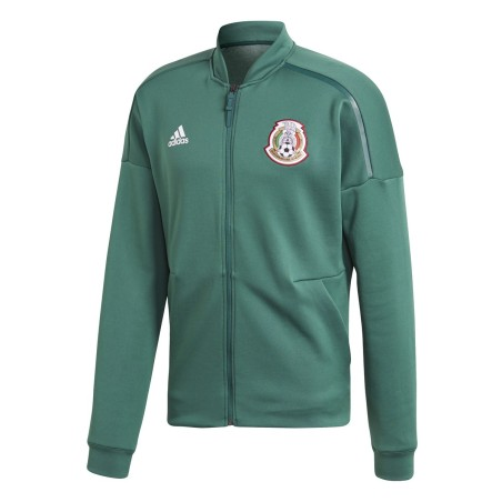 Mexiko FMF sweatshirt ZNE Jacke vor dem rennen grün 2018/19 Adidas