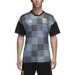 L'argentine AFA maillot pre match bleu 2018/19 Adidas