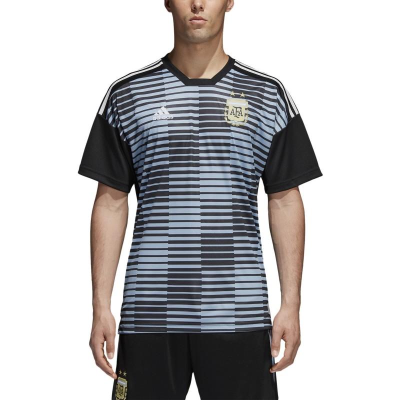 Argentina AFA jersey pre match blue 2018/19 Adidas