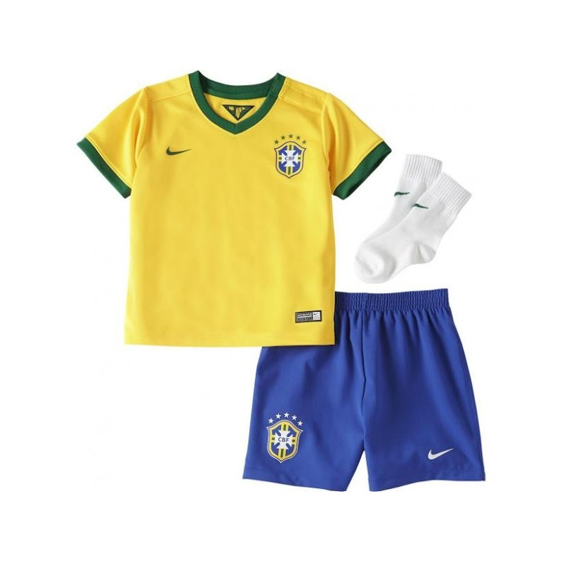 Brasile baby kit neonato home 2014/16 Nike