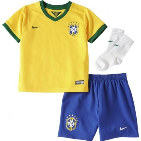 Brasil kit de bebé bebé a casa 2014/16 Nike