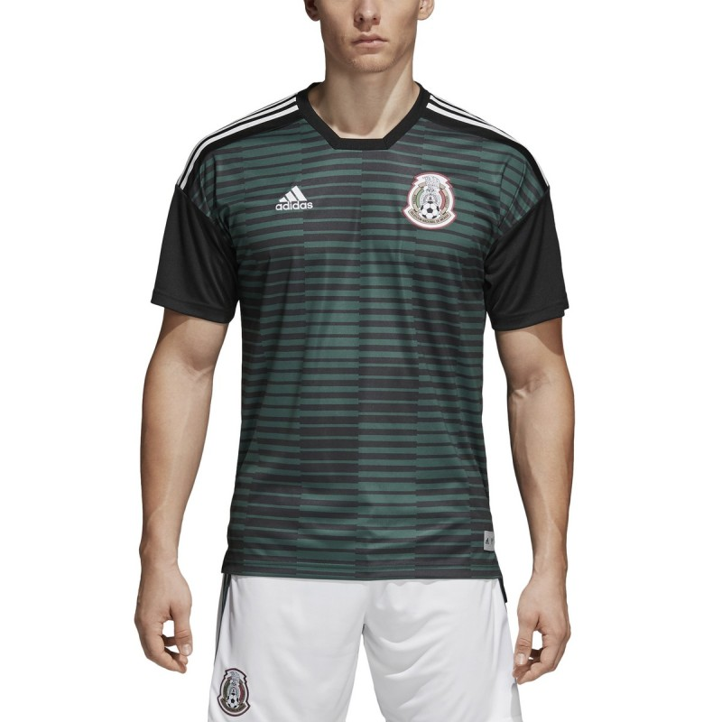 Le mexique FMF maillot pre match vert 2018/19 Adidas