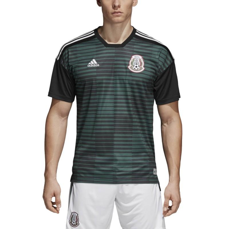 Messico FMF maglia pre partita verde 2018/19 Adidas