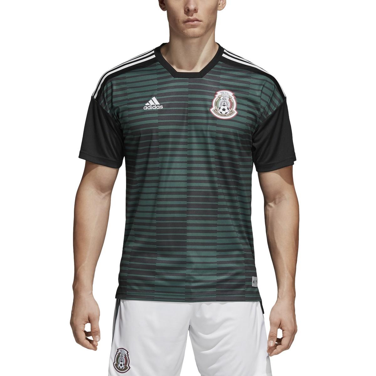 Mexico FMF jersey pre match green 2018/19 Adidas