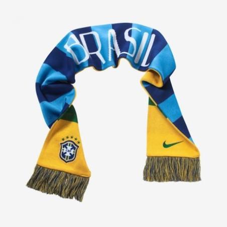 Brasil bufanda partidarios de Nike