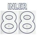Napoli Inler 88 personalizzazione maglia home 2011/12