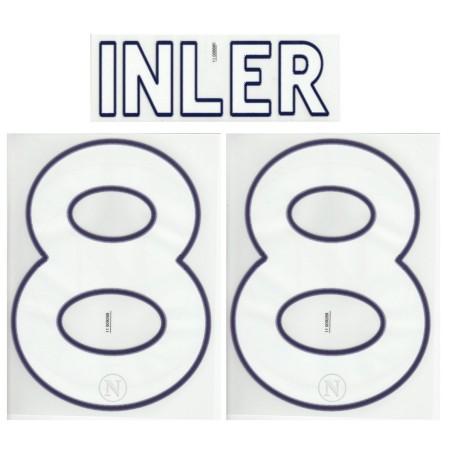 Napoli Inler 88 customizing home shirt 2011/12
