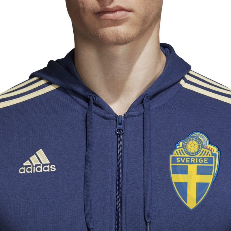 adidas SVFF 3S Hood Sweden Schweden Kapuzenjacke Jacke