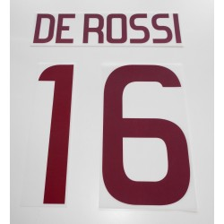 Roma De Rossi 16 customizing home shirt 2011/12
