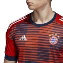 Bayern Monaco maglia pre gara rossa 2017/18 Adidas