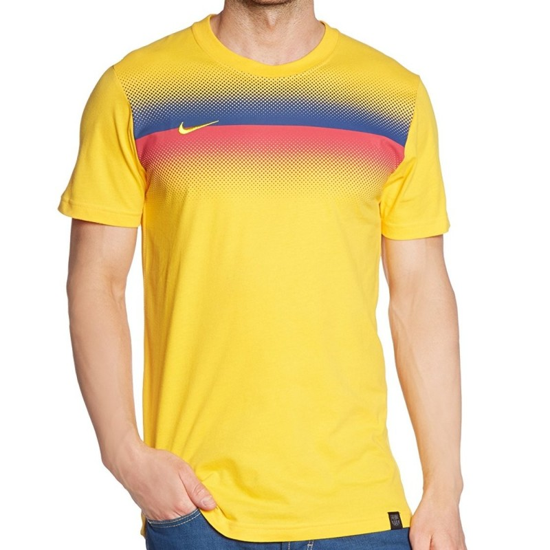 Barcelona t-shirt pre match supporters Nike