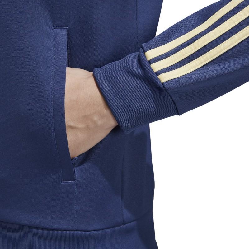 Svezia SVFF felpa track top 3 stripes blu 201819 Adidas