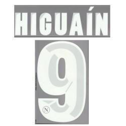 Napoli de Higuaín 9 personalización de la casa camiseta 2013/14
