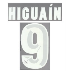 Napoli Higuain 9 customizing home shirt 2013/14