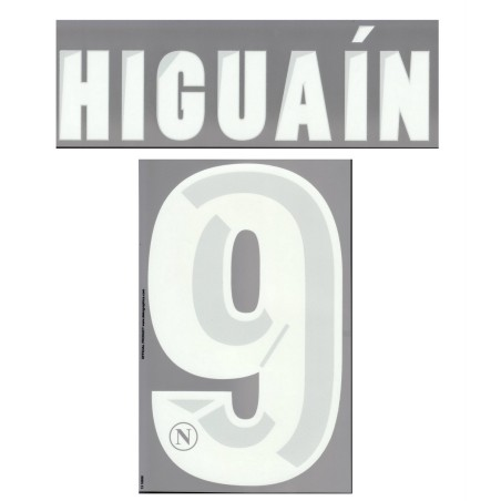Neapel Higuain 9 anpassen trikot home 2013/14