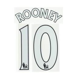 El Manchester United de Rooney 10 personalización de casa camiseta 2013/14
