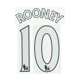 Manchester United Rooney 10 customizing home shirt 2013/14