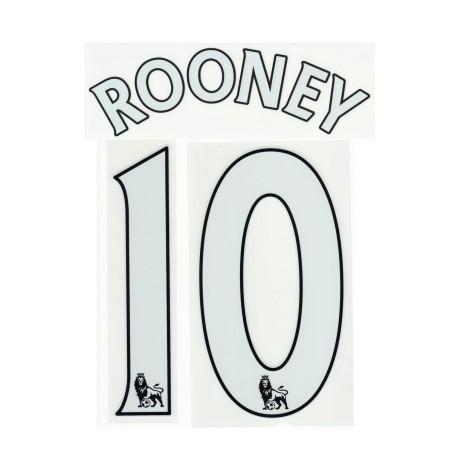 Manchester United Rooney 10 personalizzazione maglia home 2013/14