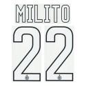 "Inter ""8 Palacio"" Kit-Trikot-name und nummer 2013/14"