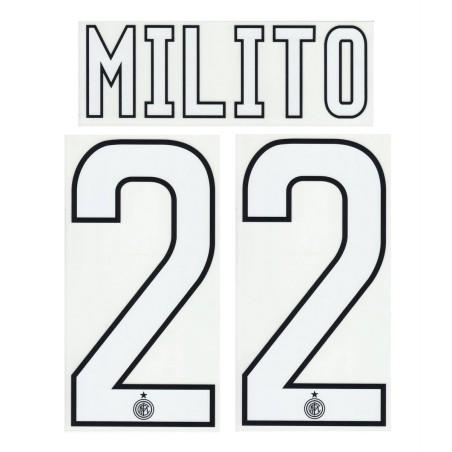 """Inter """"8 Palacio"""" Kit Jersey name and number 2013/14"""