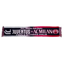 Bufanda de la Juventus - Milan TIM final de la COPA 09/05/2018 oficial