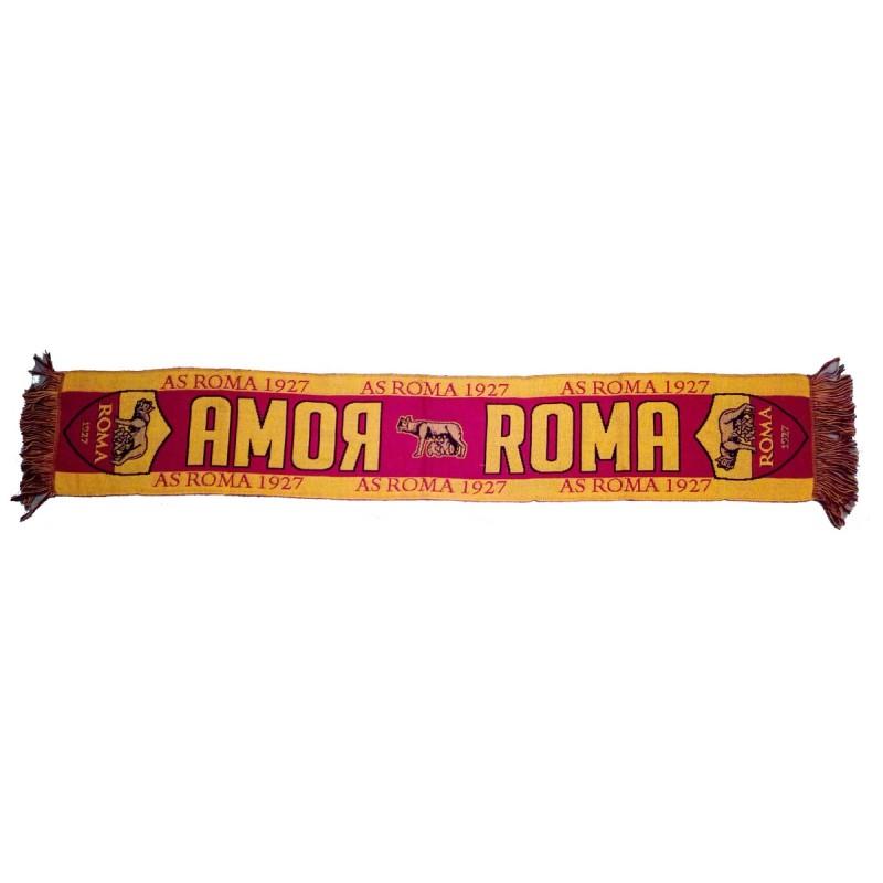 Roma sciarpa AMOR - ROMA jacquard ufficiale