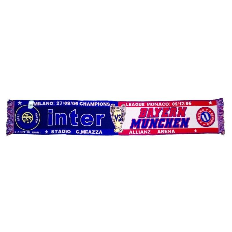 Scarf Inter vs Bayern Munchen uefa Champions League 2006/2007