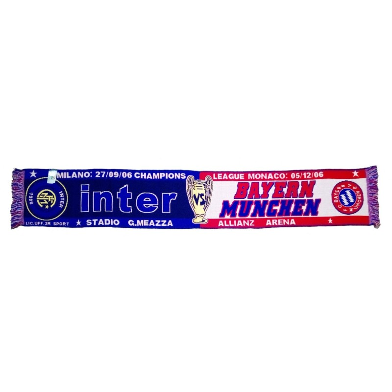 Sciarpa Inter vs Bayern Munchen Champions League 2006/2007