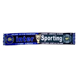 Sciarpa Inter vs Sporting Champions League 2006/2007