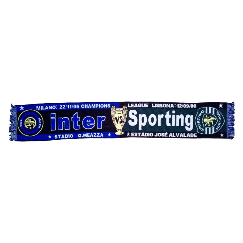 Foulard Inter vs Sporting en Ligue des Champions 2006/2007